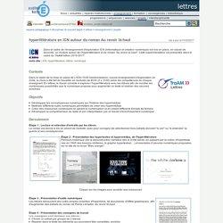 Hyperlittérature en Informatique et Création Numérique (ex. de projet)