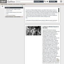 Lettres et littérature : visions du Brésil