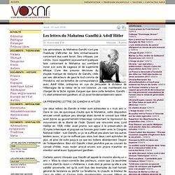 Les lettres du Mahatma Gandhi à Adolf Hitler ››› Dr. Koenraad Elst
