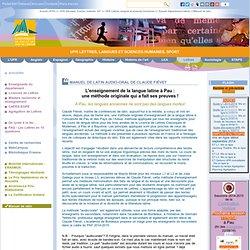 Manuel de latin - UFR Lettres, Langues et Sciences Humaines, Sport