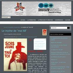 """Le mythe de """"mai 68"""" - Lettres Sciences Po Poitiers"""