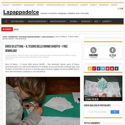 Gioco di lettura - Il tesoro dello gnomo Ghioffo - free download