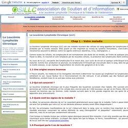 La Leucémie Lymphoïde Chronique (LLC) - SILLC