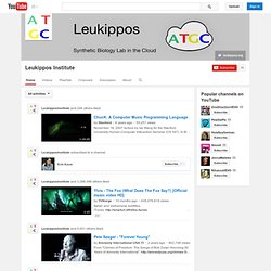 YouTube LeukipposInstitute's Channel