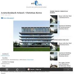 Leutschenbach School / Christian Kerez
