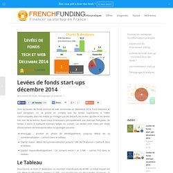 Levées de fonds start-ups décembre 2014 - frenchfunding