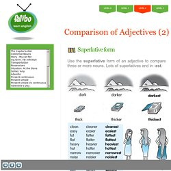 Level 2 - Comparison of Adjectives (2)