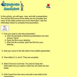 Level 5 - Symbols of America