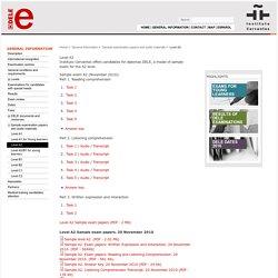 Level A2 - Diplomas de Español DELE