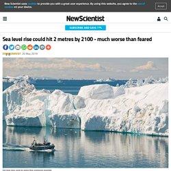 Sea Level Rises 2 Metres