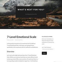 7-Level Emotional Scale