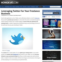 How to Leverage Twitter for Your Freelance Business