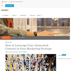 How to Leverage User-Generated Content in Your Marketing Strategy