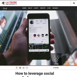 How to leverage social media for career advantage – Nest