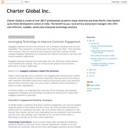 Charter Global Inc.: Leveraging Technology to Improve Customer Engagement