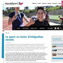 Le sport, un levier d'intégration sociale