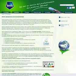 Levis Peintures - Environnement