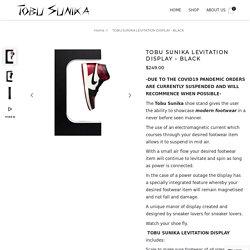 Levitation Shoe Display - Black