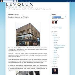 Levolux Solar Shading: Levolux dresses up Primark
