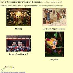 Levrioù e brezhoneg savet gant Didapage - Skol Sant Melen Pluverin