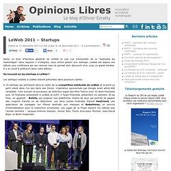 LeWeb 2011 – Startups