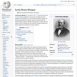 Lewis Henry Morgan 1818–1881