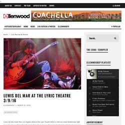 Lyric Theatre 3/9/16
