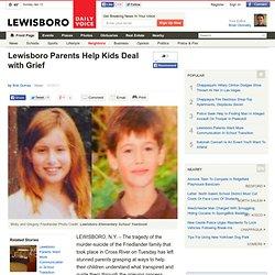 Lewisboro Parents Help Kids Deal with Grief