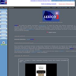 Lexico Web Page (downloadable app for the PC)