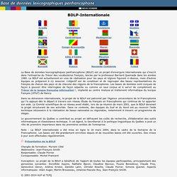 Base de données lexicographiques panfrancophone (BDLP)