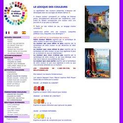 Lexique des couleurs