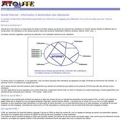 Guide et lexique Internet pour les débutants