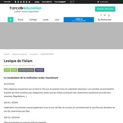 Lexique de l'Islam