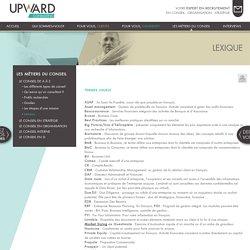 Lexique : Upward Consulting