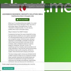 LexisNexis Business Insights Solution India - Gurugram, India
