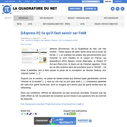 [LExpress.fr] Ce qu'il faut savoir sur l'eG8