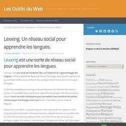 Lexxing. Un réseau social pour apprendre les langues.