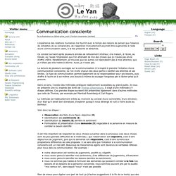 Article : principes de la communication non violente