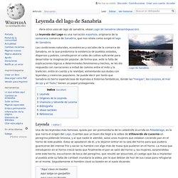 Leyenda del lago de Sanabria