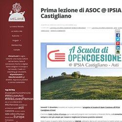 Prima lezione di ASOC @ IPSIA Castigliano