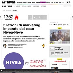 5 lezioni di marketing imparate dal caso Nivea-Neve