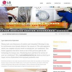 Lg ac repair service Hyderabad - LG Service