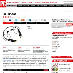 LG HBS-700 Review & Rating