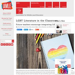LGBT Literature in the Classroom