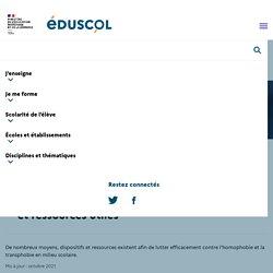 Agir à l'École contre les LGBTphobies : leviers et ressources utiles