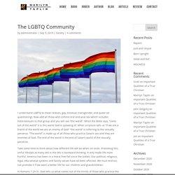 The LGBTQ Community - Marilyn Taplin