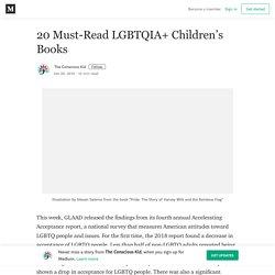 20 Must-Read LGBTQIA+ Children's Books – The Conscious Kid