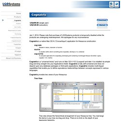 LGOSystems Product: Cognatrix