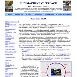 LHC Machine Outreach