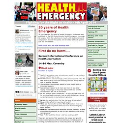 LHE - London Health Emergency